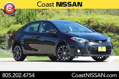 2015 Toyota Corolla for sale in San Luis Obispo CA