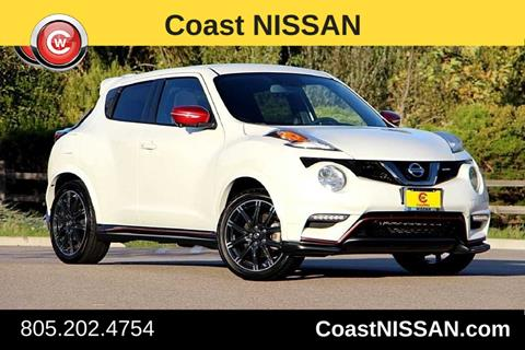 2015 Nissan JUKE for sale in San Luis Obispo CA