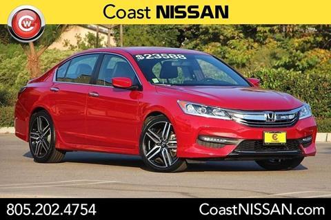 2016 Honda Accord for sale in San Luis Obispo CA