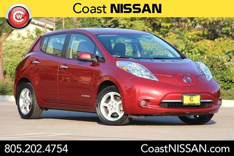 2014 Nissan LEAF for sale in San Luis Obispo CA