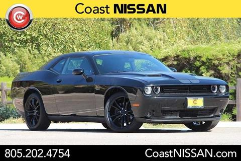 2016 Dodge Challenger for sale in San Luis Obispo CA