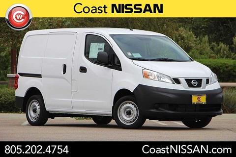 2017 Nissan NV200 for sale in San Luis Obispo CA