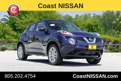 2017 Nissan JUKE for sale in San Luis Obispo CA