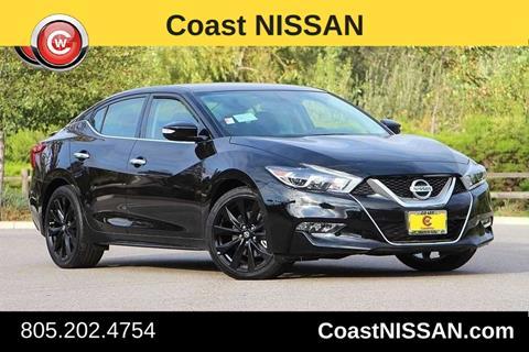 2017 Nissan Maxima for sale in San Luis Obispo CA
