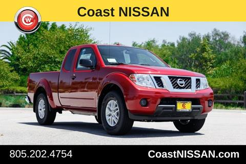 2017 Nissan Frontier for sale in San Luis Obispo CA