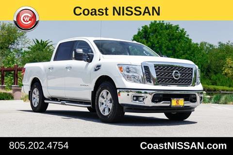 2017 Nissan Titan for sale in San Luis Obispo, CA