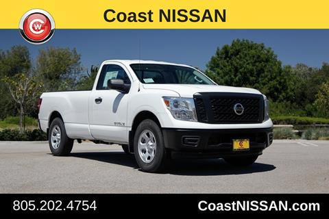 2017 Nissan Titan for sale in San Luis Obispo CA