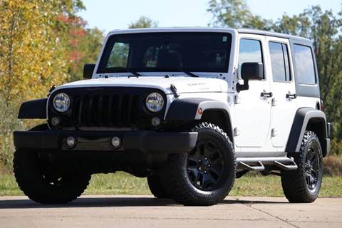 2015 Jeep Wrangler Unlimited for sale in Macomb, MI
