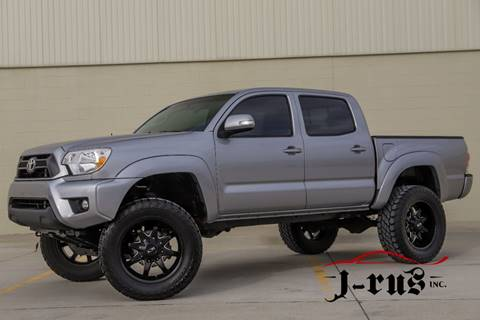 2015 Toyota Tacoma V6 for sale at J-Rus Inc. in Macomb MI