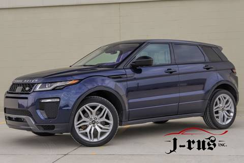 2017 Land Rover Range Rover Evoque HSE Dynamic for sale at J-Rus Inc. in Macomb MI