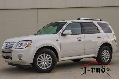 2009 Mercury Mariner Premier V6 for sale at J-Rus Inc. in Macomb MI