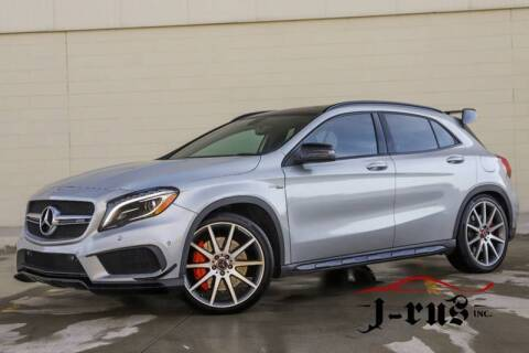 2015 Mercedes-Benz GLA GLA 45 AMG for sale at J-Rus Inc. in Macomb MI
