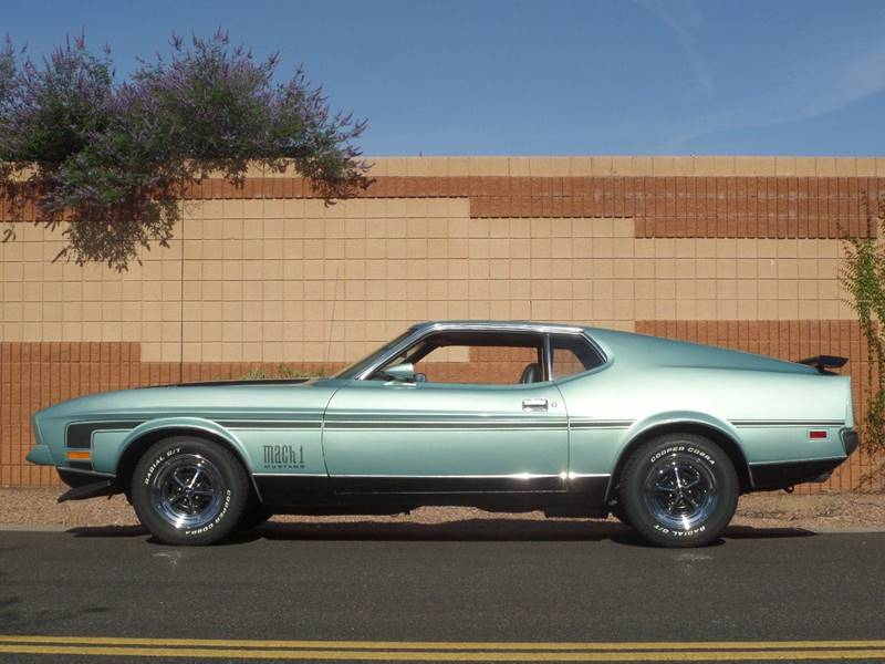 1972 Ford Mustang Mach 1 Fastback for sale at Scottsdale Collector Car Sales in Tempe AZ