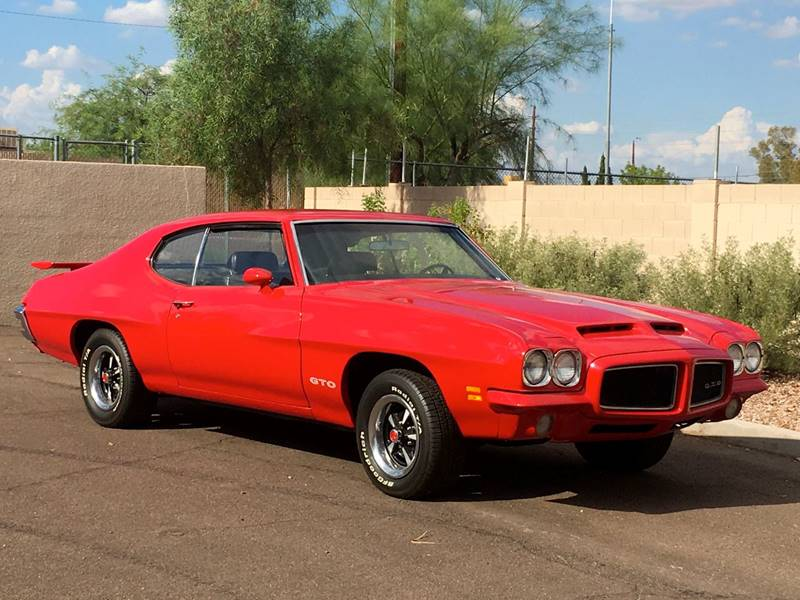 1971 Pontiac GTO for sale at Scottsdale Collector Car Sales in Tempe AZ
