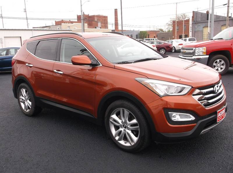 2013 Hyundai Santa Fe Sport for sale at Jacksons Car Corner Inc in Hastings NE