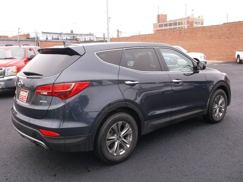 2016 Hyundai Santa Fe Sport for sale at Jacksons Car Corner Inc in Hastings NE