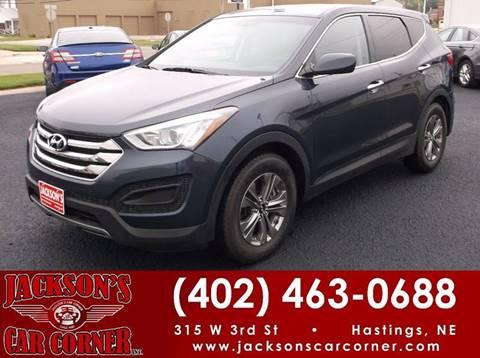 2016 Hyundai Santa Fe Sport for sale at Jacksons Car Corner Inc in Hastings NE