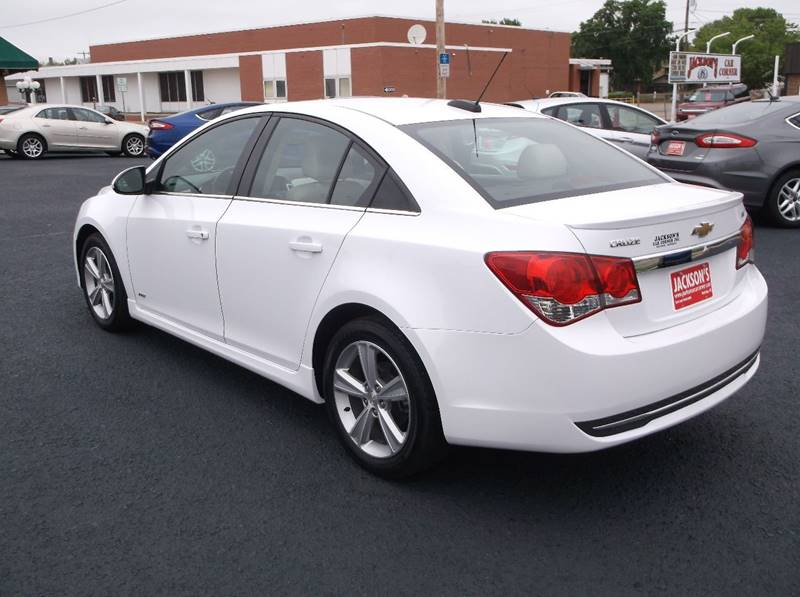 2015 Chevrolet Cruze for sale at Jacksons Car Corner Inc in Hastings NE