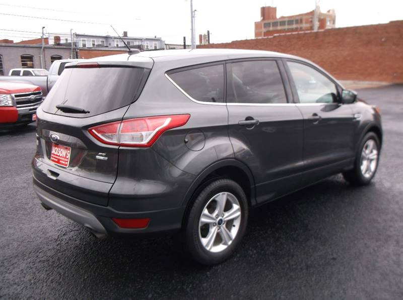 2016 Ford Escape for sale at Jacksons Car Corner Inc in Hastings NE