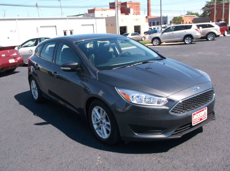 2016 Ford Focus for sale at Jacksons Car Corner Inc in Hastings NE