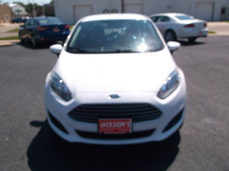 2016 Ford Fiesta for sale at Jacksons Car Corner Inc in Hastings NE