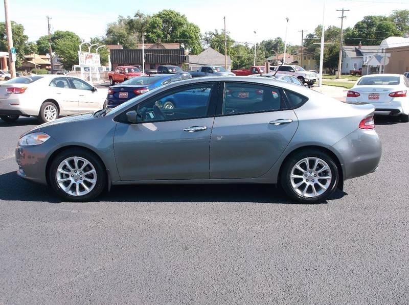 2013 Dodge Dart for sale at Jacksons Car Corner Inc in Hastings NE