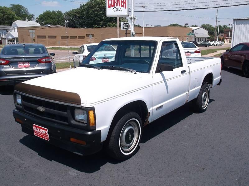 1991 Chevrolet S-10 for sale at Jacksons Car Corner Inc in Hastings NE