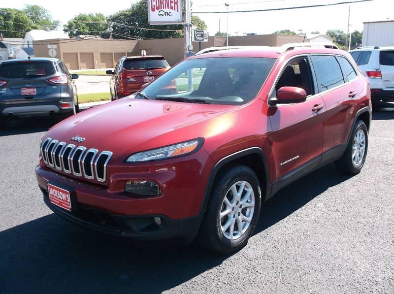 2014 Jeep Cherokee for sale at Jacksons Car Corner Inc in Hastings NE