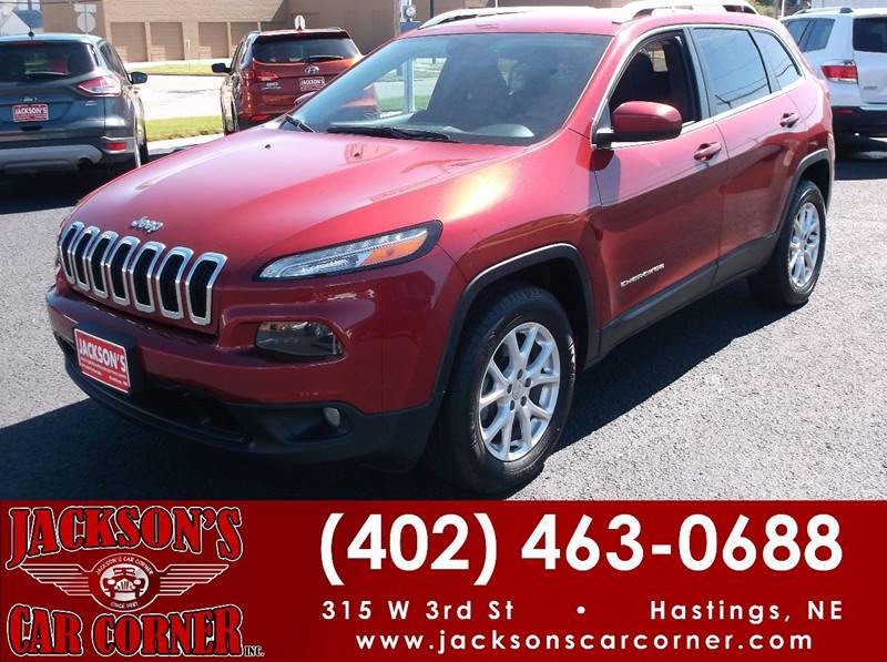 2014 Jeep Cherokee for sale at Jacksons Car Corner Inc in Hastings NE
