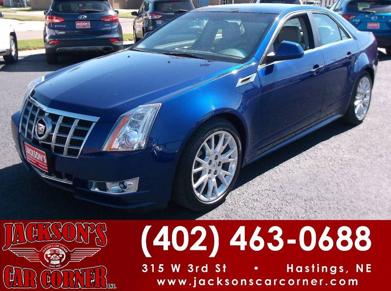 2012 Cadillac CTS for sale at Jacksons Car Corner Inc in Hastings NE