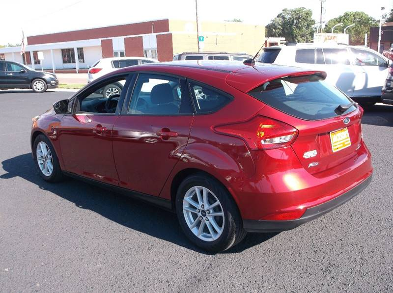 2015 Ford Focus for sale at Jacksons Car Corner Inc in Hastings NE