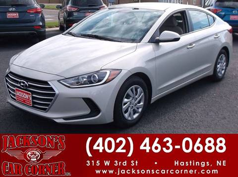 2017 Hyundai Elantra for sale at Jacksons Car Corner Inc in Hastings NE