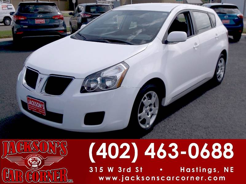 2010 Pontiac Vibe for sale at Jacksons Car Corner Inc in Hastings NE