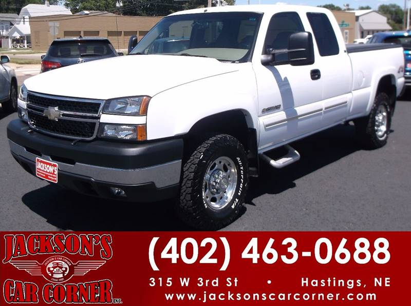 2006 Chevrolet Silverado 2500HD for sale at Jacksons Car Corner Inc in Hastings NE