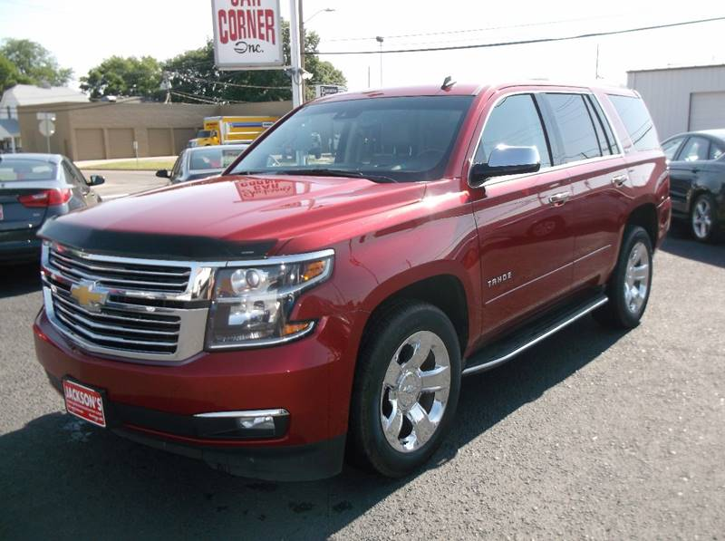 2015 Chevrolet Tahoe for sale at Jacksons Car Corner Inc in Hastings NE
