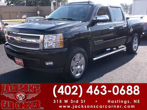 2010 Chevrolet Silverado 1500 for sale at Jacksons Car Corner Inc in Hastings NE