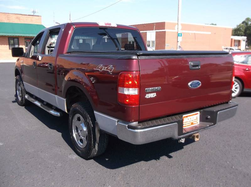 2005 Ford F-150 for sale at Jacksons Car Corner Inc in Hastings NE