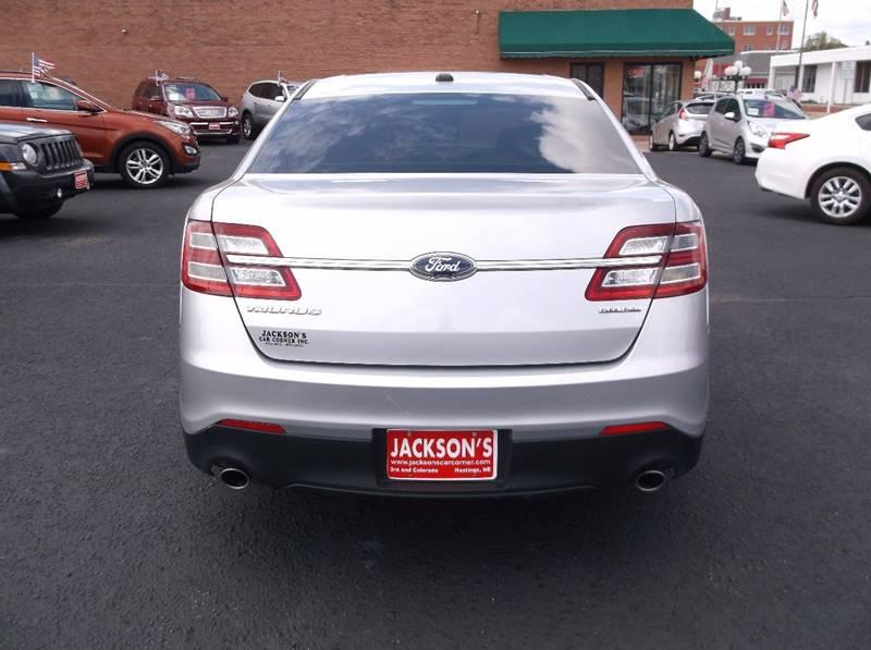 2014 Ford Taurus for sale at Jacksons Car Corner Inc in Hastings NE
