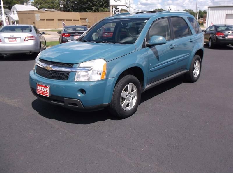 2008 Chevrolet Equinox for sale at Jacksons Car Corner Inc in Hastings NE