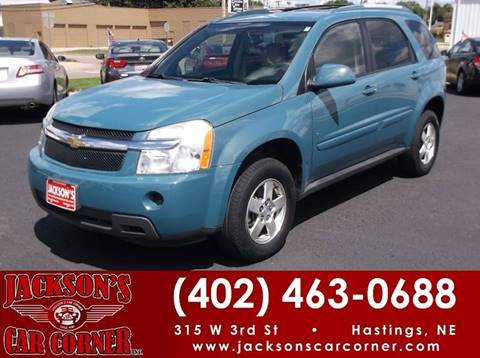 2008 Chevrolet Equinox for sale at Jacksons Car Corner Inc in Hastings NE
