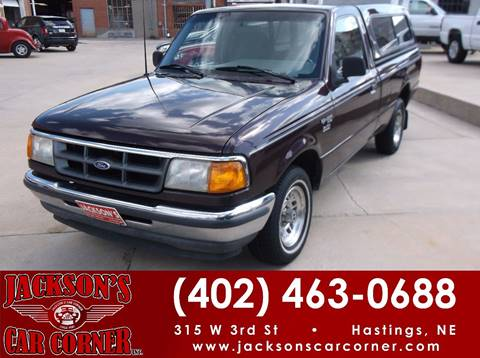 1994 Ford Ranger for sale at Jacksons Car Corner Inc in Hastings NE