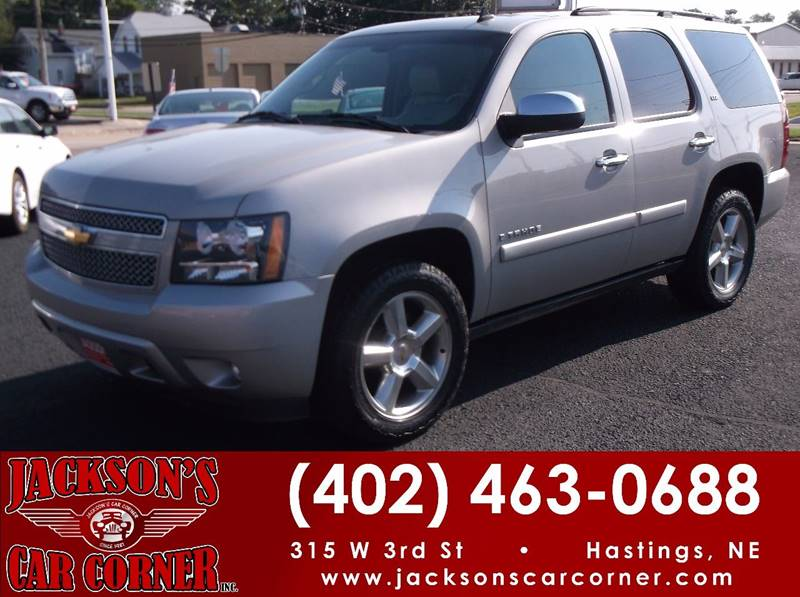 2008 Chevrolet Tahoe for sale at Jacksons Car Corner Inc in Hastings NE