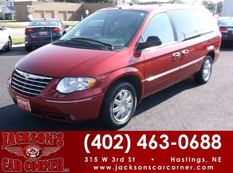 2007 Chrysler Town and Country for sale at Jacksons Car Corner Inc in Hastings NE