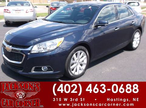 2016 Chevrolet Malibu Limited for sale at Jacksons Car Corner Inc in Hastings NE