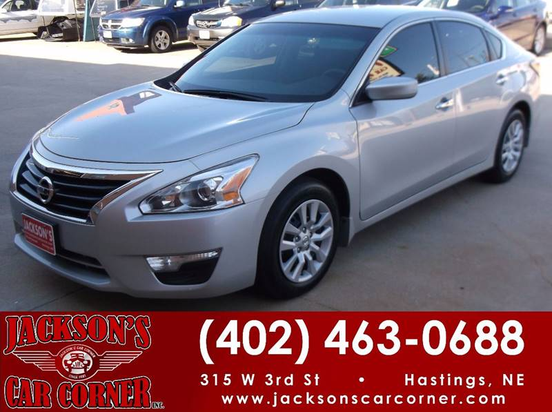 2015 Nissan Altima for sale at Jacksons Car Corner Inc in Hastings NE