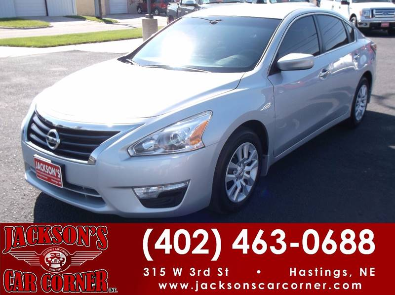 2015 Nissan Altima for sale at Jacksons Car Corner Inc in Hastings NE