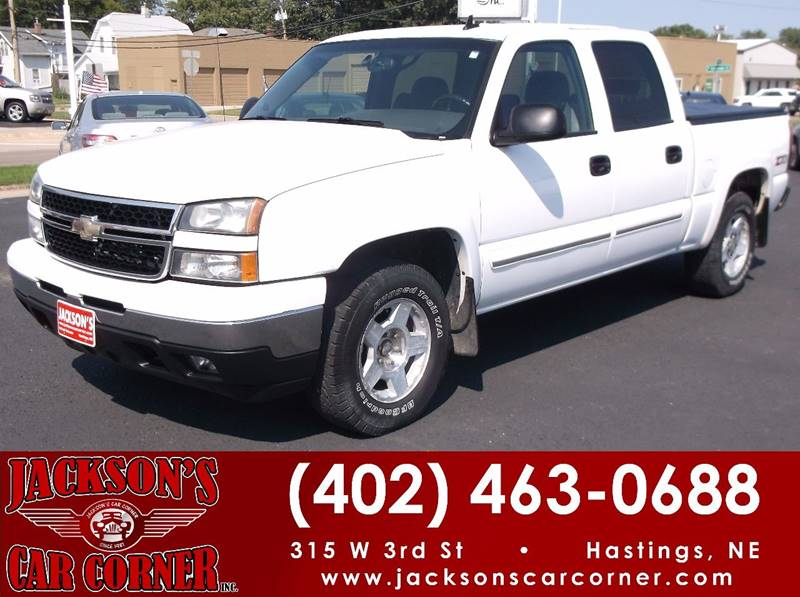 2006 Chevrolet Silverado 1500 for sale at Jacksons Car Corner Inc in Hastings NE