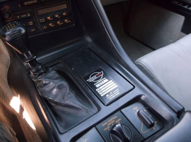 1992 Chevrolet Corvette for sale at Jacksons Car Corner Inc in Hastings NE