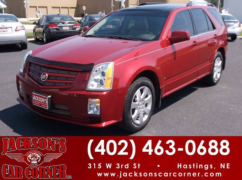 2008 Cadillac SRX for sale at Jacksons Car Corner Inc in Hastings NE