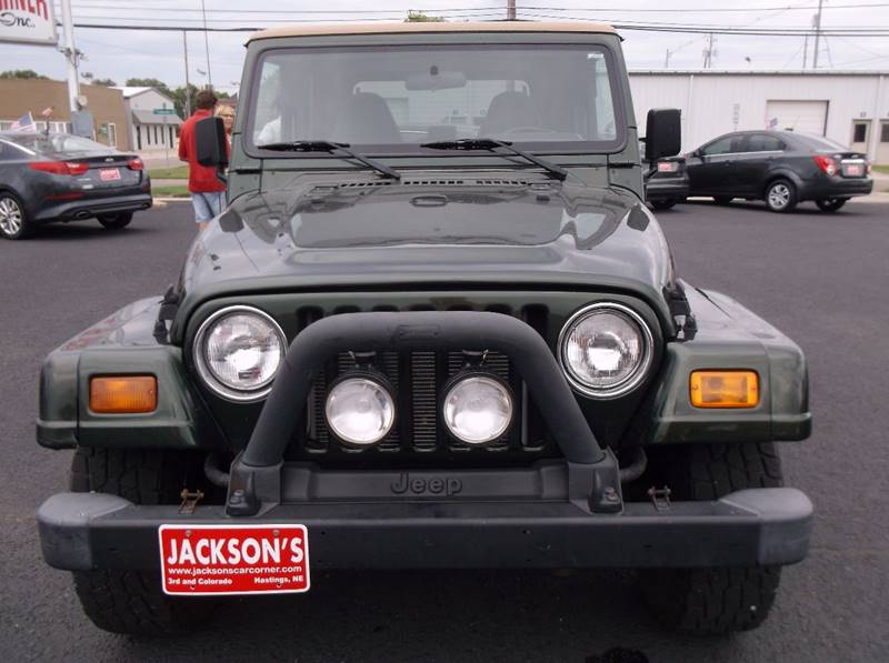 1997 Jeep Wrangler for sale at Jacksons Car Corner Inc in Hastings NE